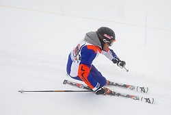 Jure Kosir during last race of Andrej Jerman, Slovenian best downhill skier when he finished his professional alpine ski career on April 6, 2013 in Krvavec Ski resort, Slovenia. (Photo By Vid Ponikvar / Sportida)