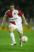 Fotball<br /> Tsjekkia<br /> 29.08.2007<br /> Slavia Praha v Ajax<br /> Kvalifisering UEFA Champions League<br /> Foto: Pavel Lebeda/Digitalsport<br /> <br /> VladimÌr ämicer - Slavia Praha<br /> Vladimir Smicer