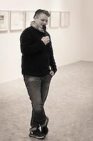 """Jannik Abel åpner utstillingen """"Arven"""" på KHÅK i Ålesund.<br /> Foto: Svein Ove Ekornesvåg"""