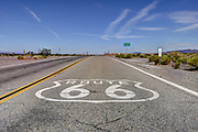 Historic Route 66, National Trails Highway, Amboy, California