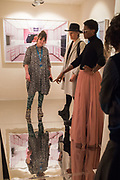 HANNAH WATSON; MARUSKA MASON, DONNA MARIE-MASON IN TJ BOULTING, , Opening of Photo London, 2018. Somerset House. London. 16 May 2018