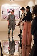 HANNAH WATSON; MARUSKA MASON, DONNA MARIE-MASON IN TJ BOULTING, , Opening of Photo London, 2018. Somerset House. London. 16 May 2018