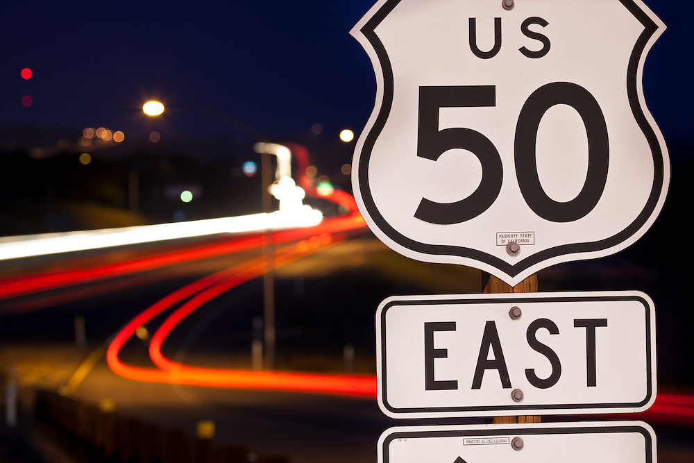 Highway 50 Eastbound at Praire City Road in Folsom, CA