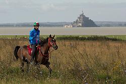 HE Sheikh Hamdan Bin Mohd Al Maktoum, (UAE), Yamamah - Endurance - Alltech FEI World Equestrian Games™ 2014 - Normandy, France.<br /> © Hippo Foto Team - Dirk Caremans<br /> 25/06/14
