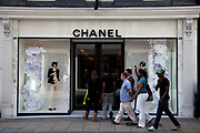 Chanel shop on Bond Street, central London