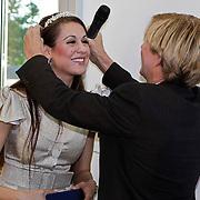 NLD/Amsterdam/20100521 - Uitreiking Dutch Model Awards 2010, prijs voor Tamara Elbaz uitgereikt door Addy van den Krommenacker