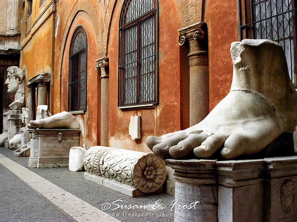 Constantine's Foot, Rome, Italy