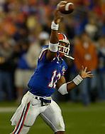 MORNING JOURNAL/DAVID RICHARD.Florida quarterback Chris Leak in action during the BCS National Championship game vs. Ohio State.