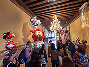 """58th Art Biennale Venice """"May You Live in Interesting Times"""" curated by Ralph Rugoff. European Cultural Centre (ECC). Palazzo Mora. Exhibition """"PERSONAL STRUCTURES - Identities""""."""