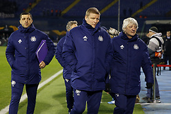 December 13, 2018 - Zagreb, Croatia - ZAGREB, CROATIA - DECEMBER 13 :  Hein Vanhaezebrouck head coach of Anderlecht pictured during the Europa League Group Stage - Group D match between Dinamo Zagreb and Rsc Anderlecht on december 13, 2018 in Zagreb, Croatia, 13/12/2018 (Credit Image: © Panoramic via ZUMA Press)