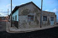 House and street in Gibara, Holguin, Cuba.