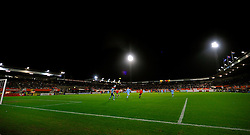 17-11-2009 VOETBAL: JONG ORANJE - JONG SPANJE: ROTTERDAM<br /> Nederland wint met 2-1 van Spanje / Sparta stadion Het Kasteel<br /> ©2009-WWW.FOTOHOOGENDOORN.NL