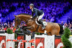 Bruynseels Niels, BEL, Jenson van't Meulenhof<br /> LONGINES FEI Jumping World Cup™ - Lyon 2019<br /> © Hippo Foto - Julien Counet<br /> 03/11/2019