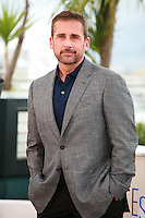 Actor Steve Carell at the photo call for the film Foxcatcher at the 67th Cannes Film Festival, Monday 19th May 2014, Cannes, France.
