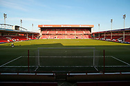 The Banks's Stadium before the EFL Sky Bet League 2 match between Walsall and Crawley Town at the Banks's Stadium, Walsall, England on 18 January 2020.