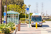 Golden West Transportation Center OCTA Bus