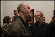 TIM MCENEMY; BEN ELTON, Private view, Paul Simonon- Wot no Bike, ICA Nash and Brandon Rooms, London. 20 January 2015