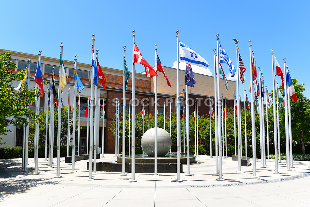 Argyros Global Citizens Plaza on the campus of Chapman University