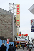 Atmosphere at the Apollo Theater 75th Birthday Celebration Press Conference announcing its special anniversary programming across Harlem, New York, and the Nation.