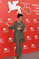 Jury photocall during the 75th Venice Film Festival. 29 Aug 2018 Pictured: Sylvia Chang. Photo credit: M. Angeles Salvador/MEGA TheMegaAgency.com +1 888 505 6342