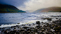 Storm clouds over a wild and windy St Mary's Loch in the Scottish Borders<br /> <br /> (c) Andrew Wilson   Edinburgh Elite media