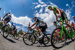 Ryan Gibbons (RSA) of Team Dimension Data during Stage 3 of 24th Tour of Slovenia 2017 / Tour de Slovenie from Celje to Rogla (167,7 km) cycling race on June 16, 2017 in Slovenia. Photo by Vid Ponikvar / Sportida