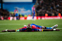 LONDON, ENGLAND - SEPTEMBER 22:   Wilfried Zaha of Crystal Palace during the Premier League match between Crystal Palace and Newcastle United at Selhurst Park on September 22, 2018 in London, United Kingdom. (Photo by Sebastian Frej/MB Media/Getty Images)