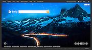 Bing: Homepage (22 November 2013)