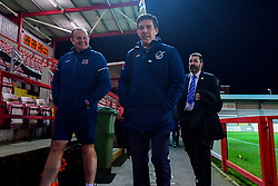 Bristol Rovers manager Darrell Clarke arrives at St James Park prior to kick off - Mandatory by-line: Ryan Hiscott/JMP - 13/11/2018 - FOOTBALL - St James Park - Exeter, England - Exeter City v Bristol Rovers - Checkatrade Trophy