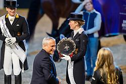 Langehanenberg Helen, GER, De Vos Ingmar, BEL<br /> LONGINES FEI World Cup™ Finals Gothenburg 2019<br /> © Hippo Foto - Dirk Caremans<br /> 06/04/2019