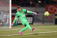 Remy VERCOUTRE - 14.03.2015 - Lorient / Caen - 29eme journee de Ligue 1<br /> Photo : Vincent Michel / Icon Sport