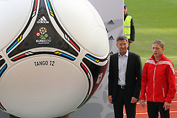 02.12.2012, Olymia Stadion, Kiev, UKR, Praesentation des neuen Adidasballes fuer die Euro 2012, im Bild RAFAL MURAWSKI (P) // during the presentation of the neuw Adidas ball for Euro 2012 at Olypic stadium in Kiev, UKR on 2011/12/02. EXPA Pictures © 2011, PhotoCredit: EXPA/ Newspix/ Lukasz Grochala..***** ATTENTION - for AUT, SLO, CRO, SRB, SUI and SWE only *****