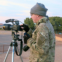 John from White Sands Missile Range makes a video of the launch from Red Rock park in gallup.
