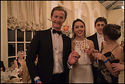 TOM VERBIST, ELIZABETH HAMILTON, PRESIDENT OF THE CLUB, Oxford University Polo club Ball, Blenheim Palace. Woodstock. 6 March 2015ELIZABETH