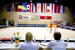 Arena Krim Galjevica during 24th MTM International Youth Tournament in Rhythmic Gymnastics organized by Narodni dom Ljubljana, on April 9, 2011 in Arena Krim Galjevica, Ljubljana, Slovenia.  (Photo By Vid Ponikvar / Sportida.com)