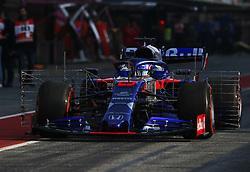 February 21, 2019 - Barcelona, Spain - Motorsports: FIA Formula One World Championship 2019, Test in Barcelona, , #23 Alex Albon (THA Team Torro Rosso) (Credit Image: © Hoch Zwei via ZUMA Wire)