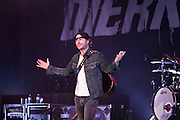 Country singer Dierks Bentley performs at the San Jose Civic Auditorium in San Jose, Calif., on Nov. 11, 2011.  Photo by Stan Olszewski/SOSKIphoto