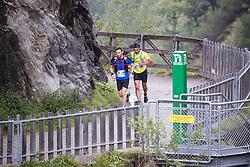 23.07.2016, Kals, AUT, Grossglockner Ultra Trail 2016, im Bild die beiden Führenden des Glockner Trail v.l. Kabicher Michael (AUT) und Németh Csaba// during the 2016 Grossglockner Ultra Trail. Kals, Austria on 2016/07/23. EXPA Pictures © 2015, PhotoCredit: EXPA/ Johann Groder