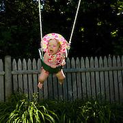 Greta Crying on The Swing, Biddeford Pool, Maine, 2008
