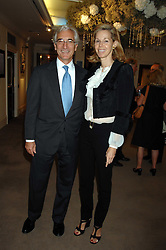 SIR RONALD & LADY COHEN at the Sotheby's Summer Party 2007 at their showrooms in New Bond Street, London on 4th June 2007.<br /><br />NON EXCLUSIVE - WORLD RIGHTS