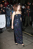 Tali Lennox, Harper's Bazaar Women of the Year Awards, Claridge's Hotel, London UK, 05 November 2013, Photo by Richard Goldschmidt