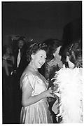Princess Margaret, Westminster Ball, Hilton 28.11.83© Copyright Photograph by Dafydd Jones 66 Stockwell Park Rd. London SW9 0DA Tel 020 7733 0108 www.dafjones.com