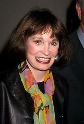 GLORIA VANDERBILT (February 20, 1924 - June 17, 2019) was an American artist, author, actress, fashion designer, heiress, and socialite. She was a member of the Vanderbilt family of New York and the mother of CNN television anchor Anderson Cooper. The subject of a high-profile child custody trial in the 1930s, she later became known in connection with a line of fashions, including an early version of ''designer'' blue jeans. PICTURED: June 9, 1998, New York, New York, USA: GLORIA VANDERBILT at the opening of 'Dinah Was', at the Gramercy Theater. (Credit Image: © Henry McGee/ZUMAPRESS.com)