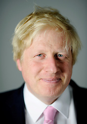 Portraits of the London Mayor Boris Johnson during his Mayoral Campaign, Friday April 13, 2012. Photo By Andrew Parsons/I-images