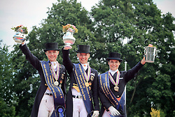 Prizegiving Young Riders<br /> European Championship Young Riders 2010<br /> © Hippo Foto - Leanjo de Koster