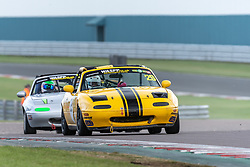 Adam Craig pictured while competing in the BRSCC Mazda MX-5 Championship. Picture taken at Donington Park on August 22/23, 2020 by BRSCC photographer Jonathan Elsey