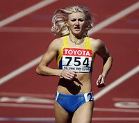 Friidrett, 6. august 2005, VM Helsinki, <br /> World Championship in Athletics<br /> Tetyana Petlyuk, UKR 800 metres