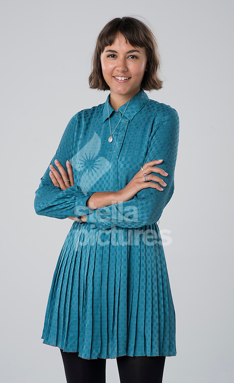 Aimee Grant Cumberbatch for their Evening Standard byline picture at Evening Standard Studio, London<br /> Picture by Daniel Hambury/Stella Pictures Ltd 07813022858<br /> 02/11/2017