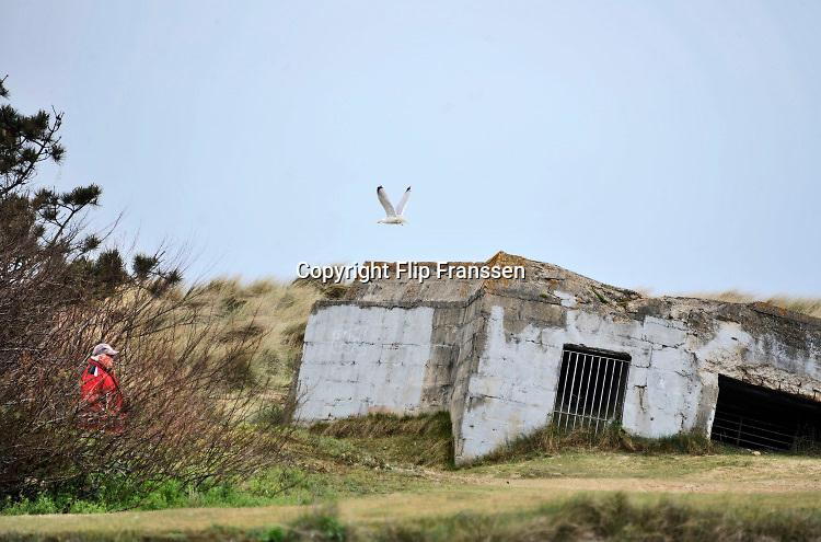 Frankrijk, Courseulles sur mer, 11-5-2013 Serie over de invasie door de geallieerden op de stranden van Normandie, 6 juni 1944. Bevrijding, herdenking, 2e, tweede wereldoorlog, oorlog, atlantik wall, dday, d-day, d day Foto: Flip Franssen