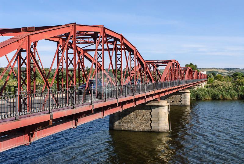 Puente sobre el Río Tajo. Talavera de la Reina. Toledo